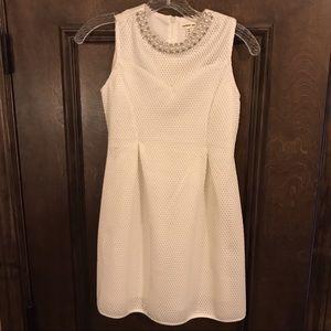 💙Monteau Girl Beautiful White Dress! Sz 12